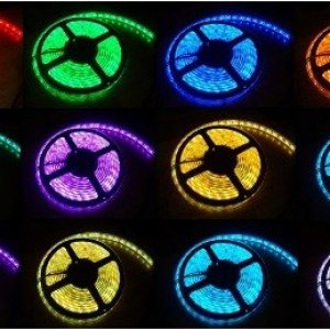Flexible led strips with color changing